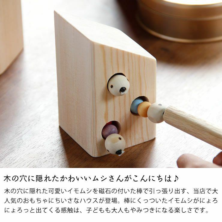 夢工房ももたろう木のおもちゃ「むしハウス」_詳細04