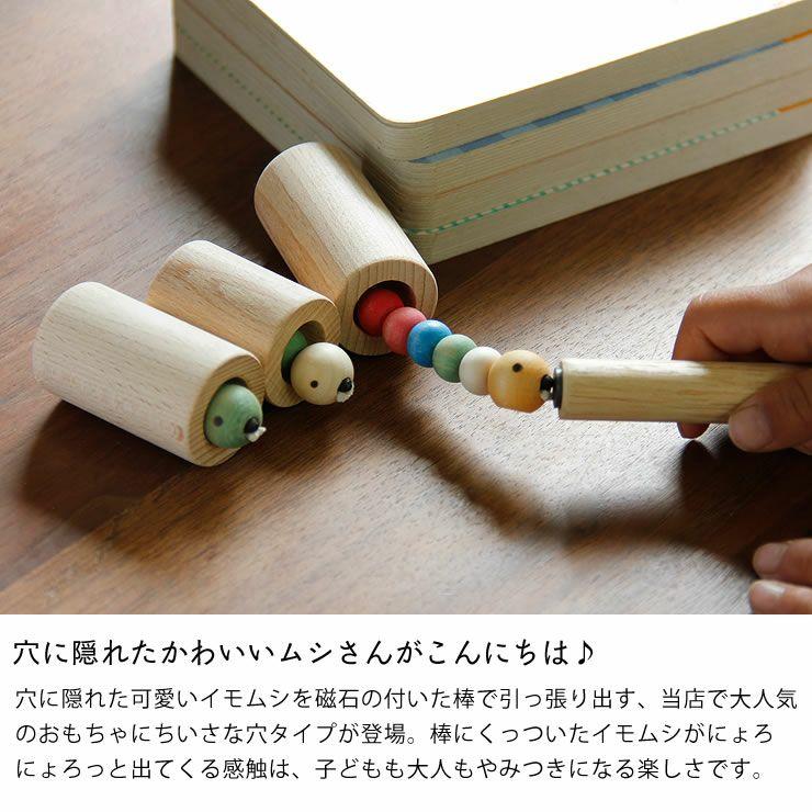 夢工房ももたろう木のおもちゃ「むしのあな」_詳細04