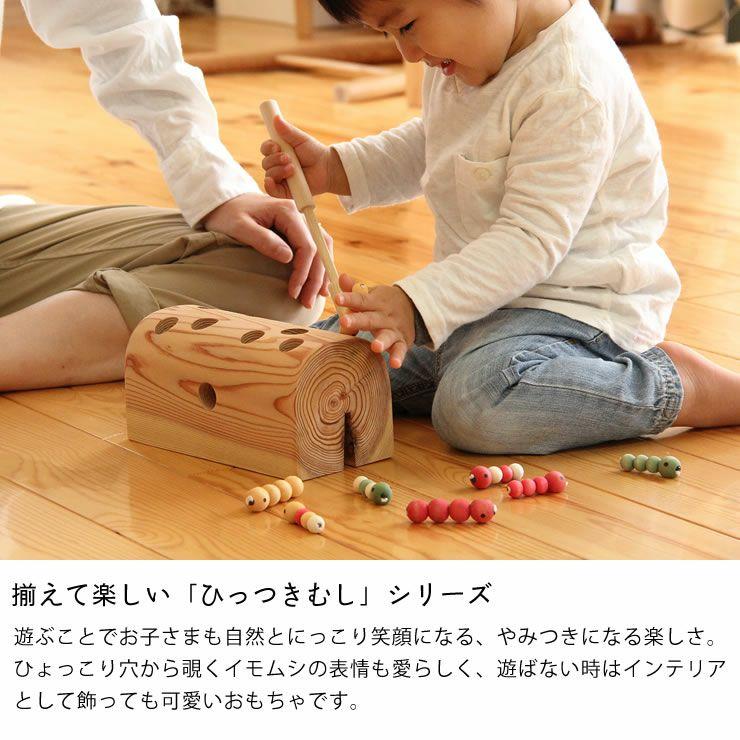夢工房ももたろう木のおもちゃ「むしのあな」_詳細08