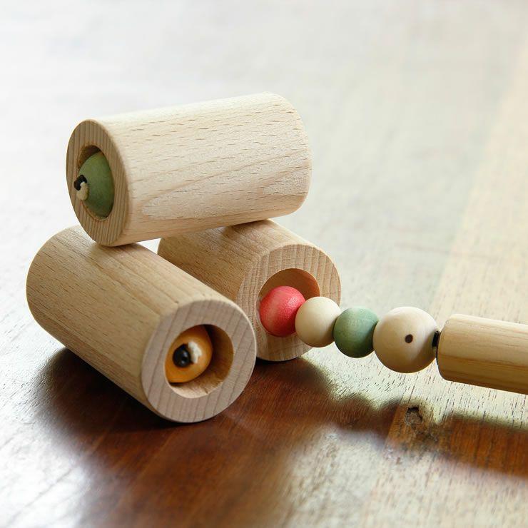 夢工房ももたろう木のおもちゃ「むしのあな」_詳細11