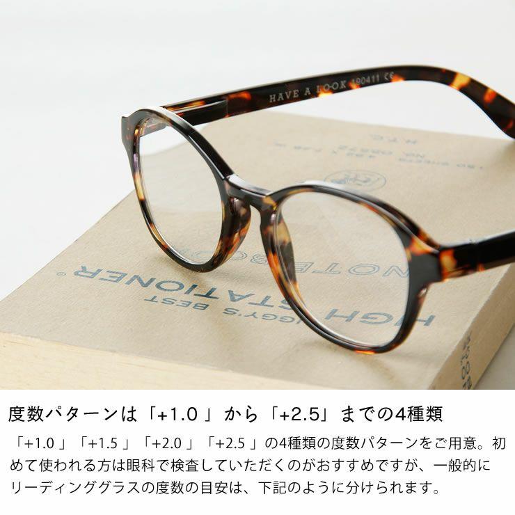 Hava a look(ハブ・ア・ルック)リーディンググラス・老眼鏡CIRCLE(サークル)_詳細08