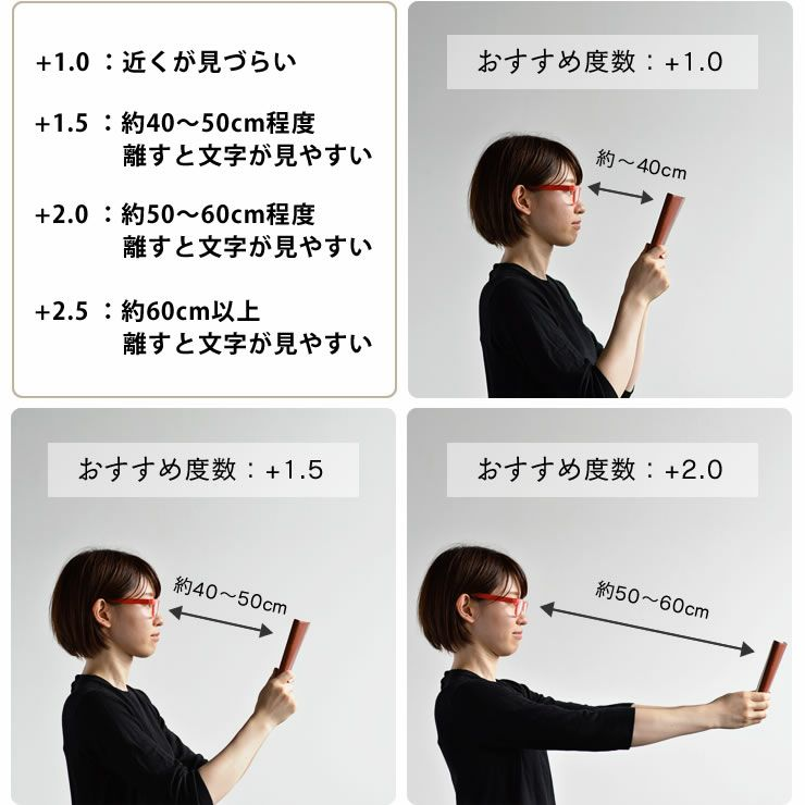 Hava a look(ハブ・ア・ルック)リーディンググラス・老眼鏡CIRCLE(サークル)_詳細09