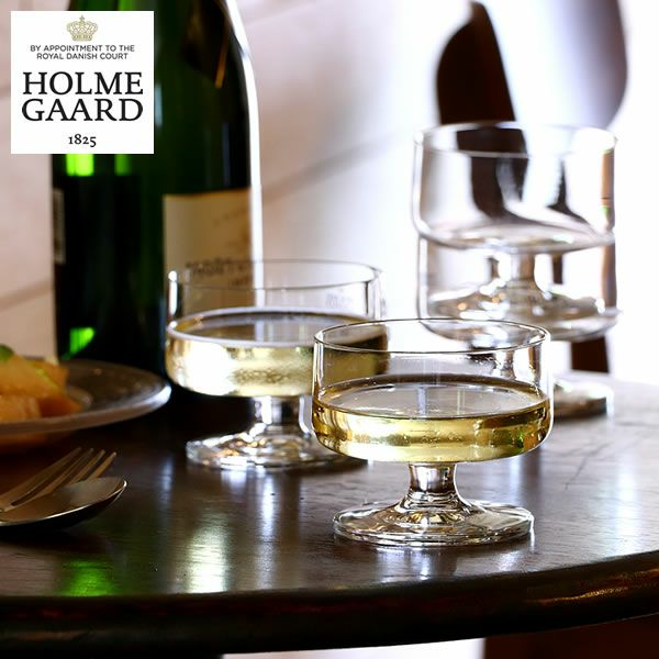 HOLMEGAARD(ホルムガード)スタブシャンパン&デザートグラス200ml(4個セット)_詳細01